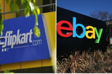 ebay acquires stakes in flipkart