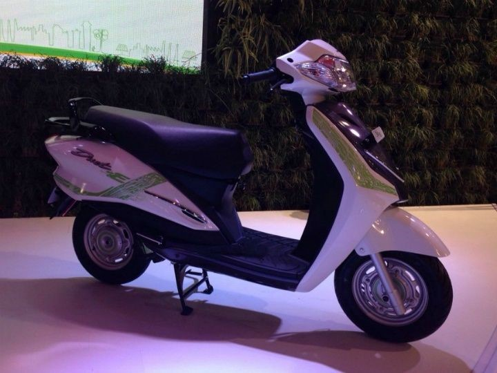 Electric & Hybrid Scooters To Be Showcased At Auto Expo 2018 Hero Duet E