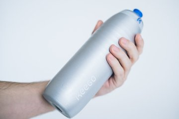 Keego-world's-first-squeezable-metal-bottle