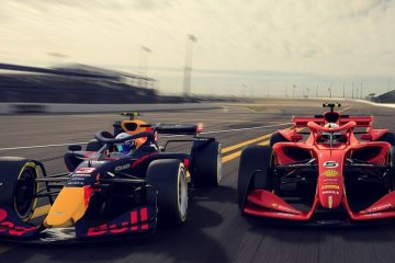 2021 F1 cars