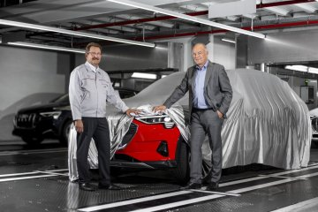 Audi E-Tron Production