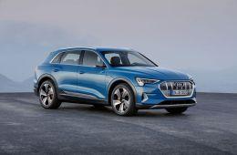 Audi E-tron suv launched