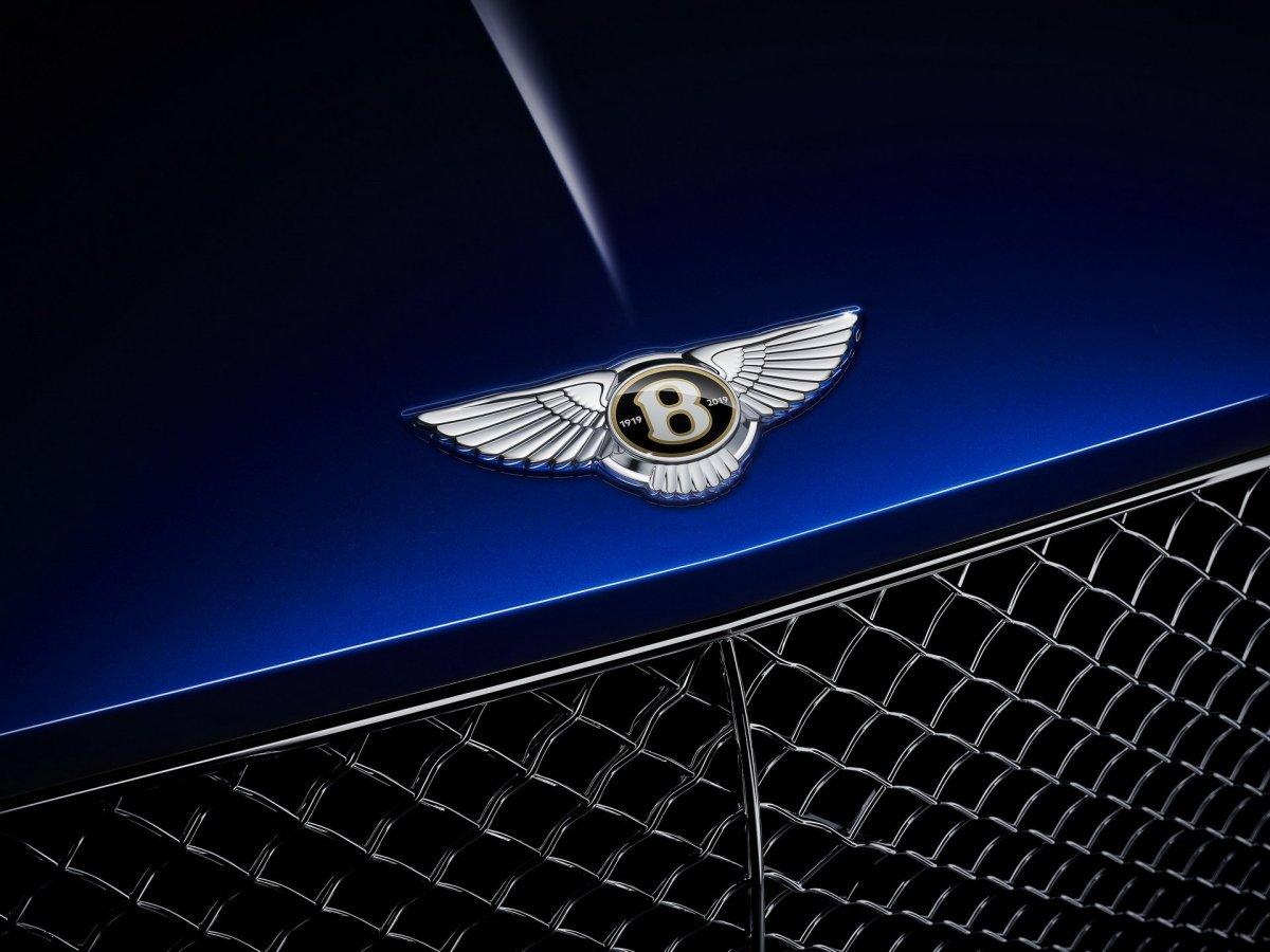 Bentley centenary blue