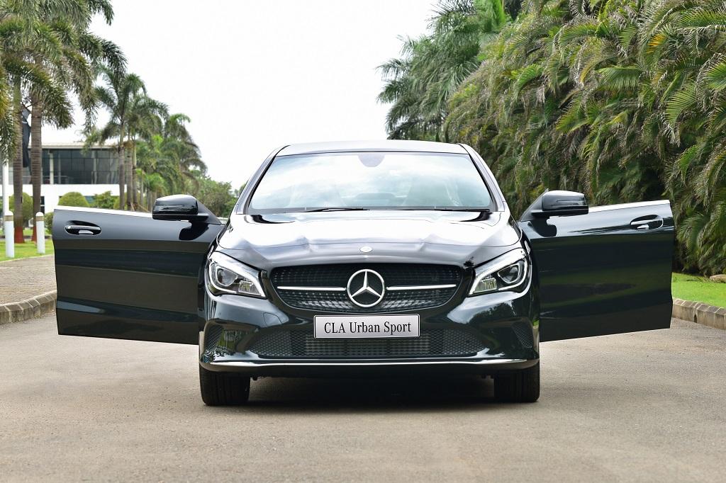 Mercedes CLA Urban sport india