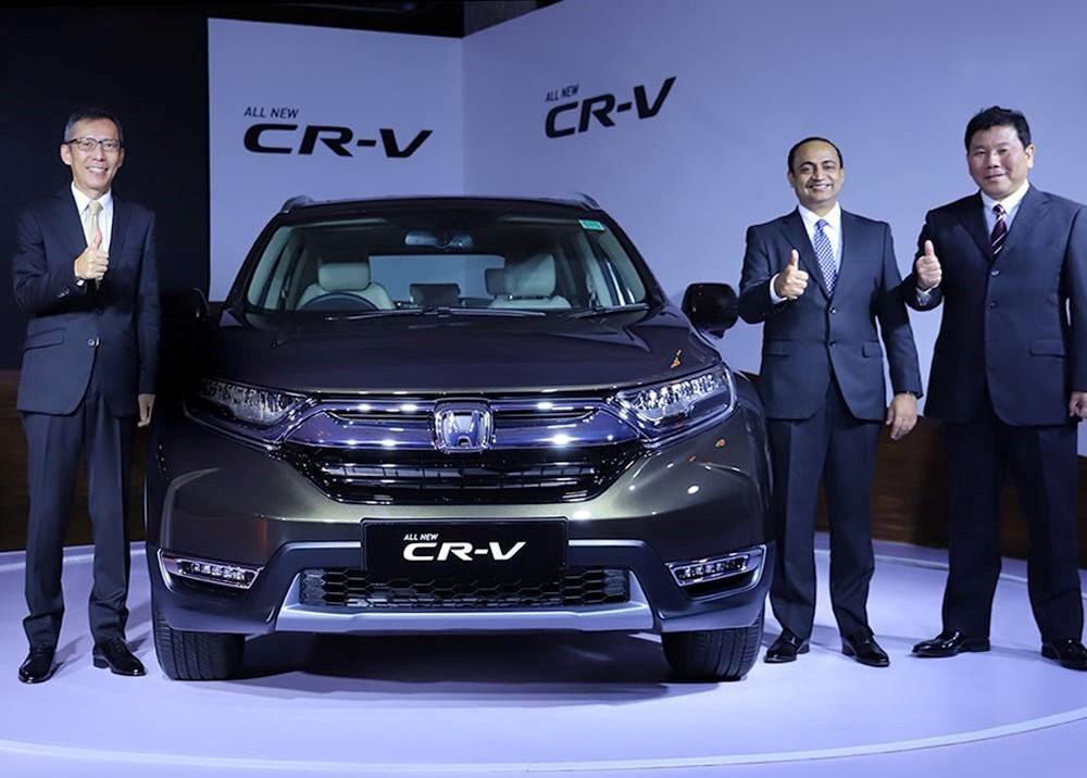 Honda CR-V India launch