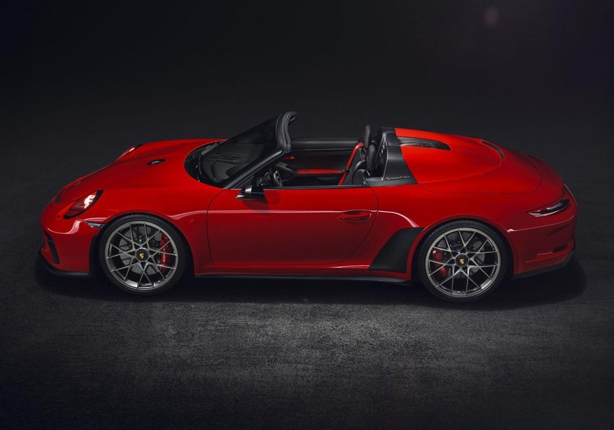 Porsche 911 speedster India