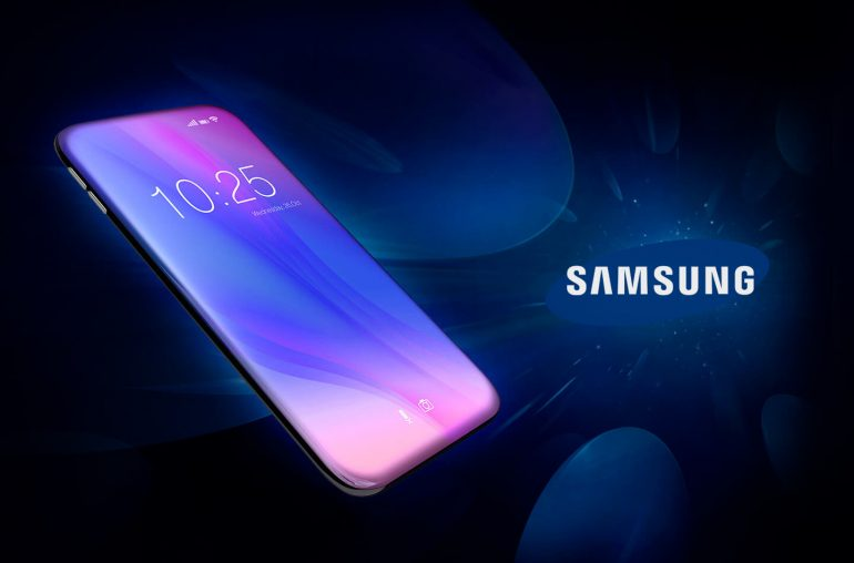 Samsung Bezell Less Display