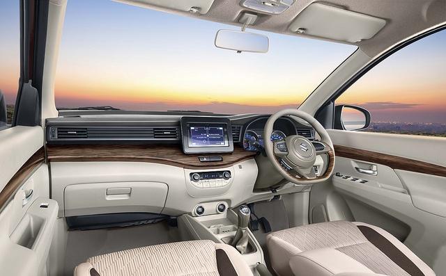 2018 Maruti Suzuki interior
