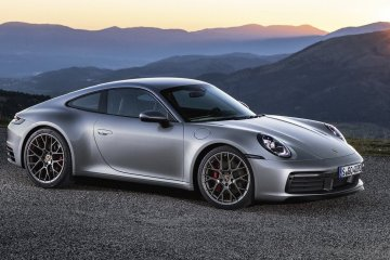 2020 Porsche 911 Carrera 4S launch