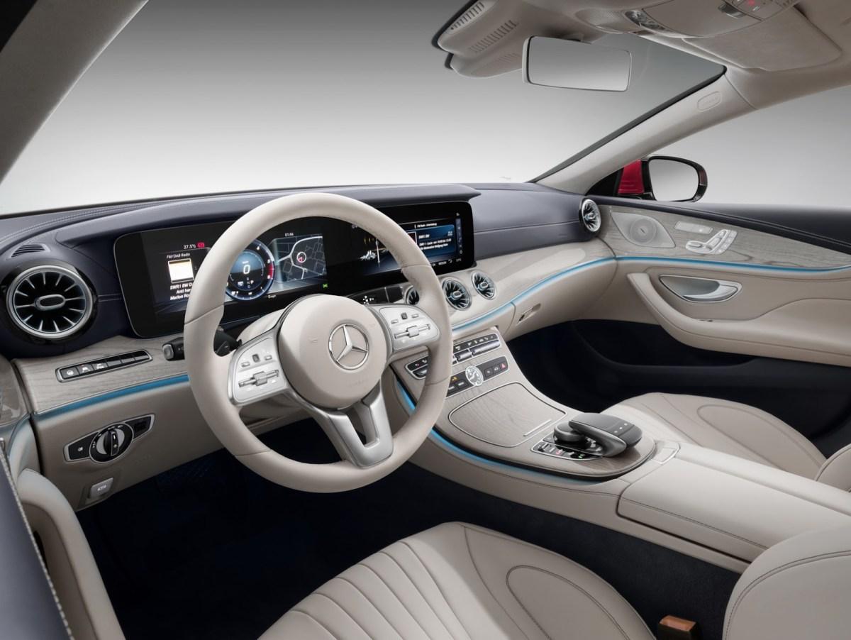 Mercedes Benz new CLS india interior