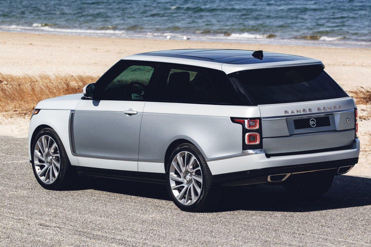 Three door range rover sv coupe production