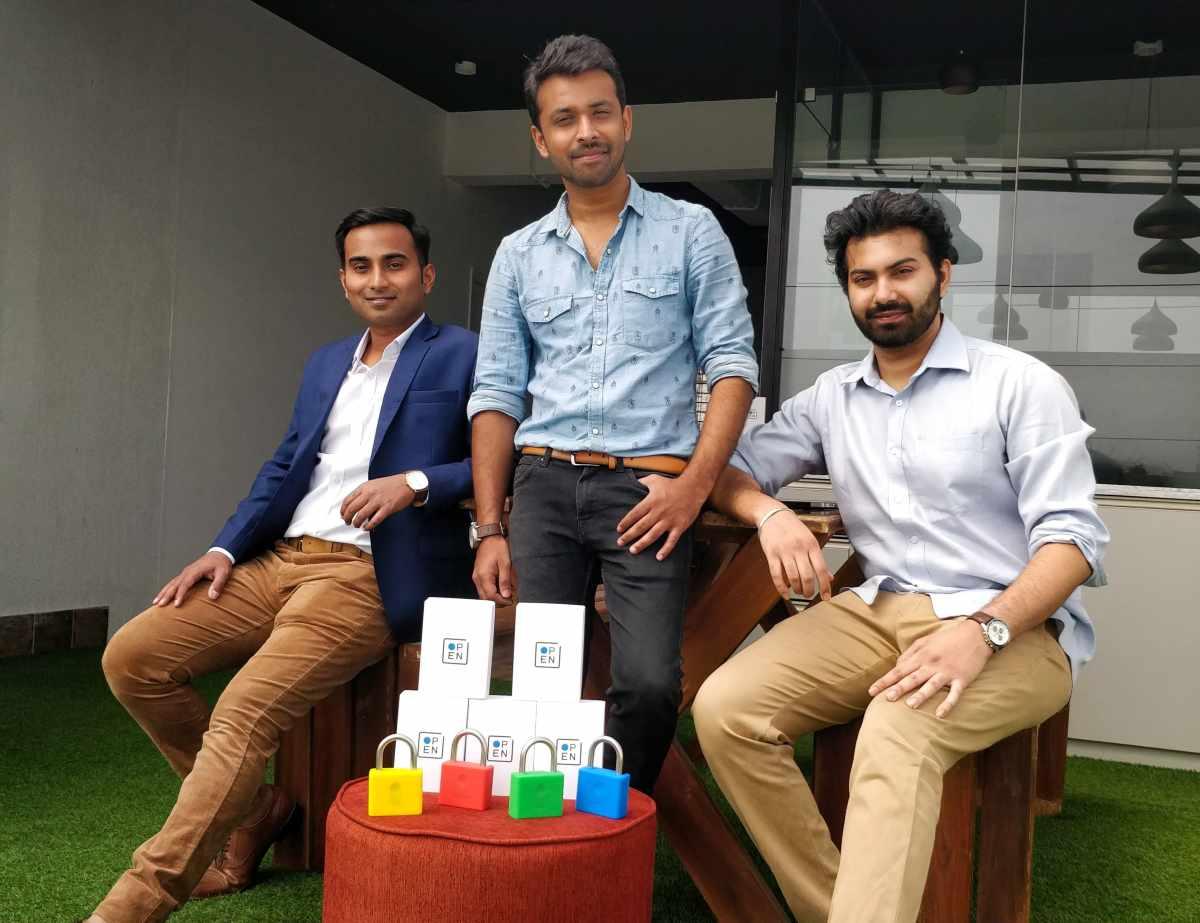 Left- Gotama Gowda (CEO), Center- Rajshekar Jenne (CMO), Right- Siddhesh Keluskar (CTO)