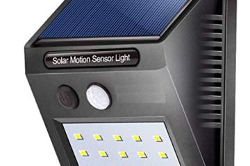 Futuristic gadgets on amazon motion sensing solar light