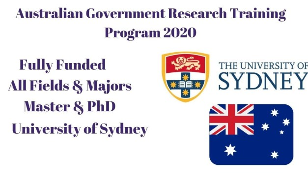 Australian Government Research Training Program 2021 Scholarships For Masters & PhD