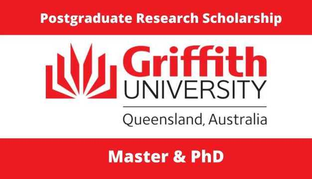 Griffith University International Postgraduate Research Scholarship, Australia 2021