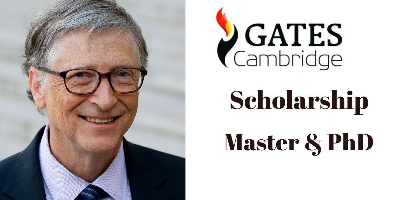 Gates Cambridge Scholarship in UK 2022  [Fully Funded]