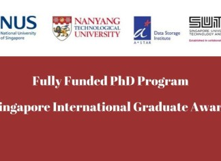 Singapore International Graduate Award 2020