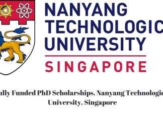 Nanyang Technological University PhD Scholarship