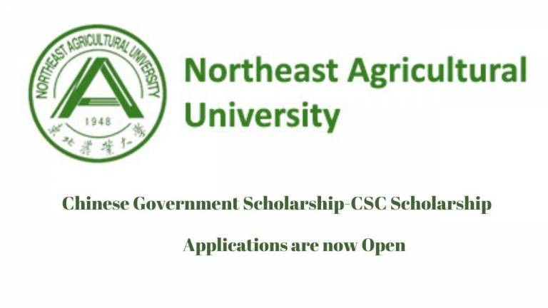 Northeast Agricultural University CSC Scholarship 2021 | Study in China