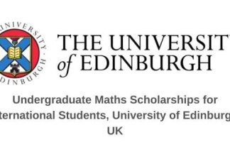 University of Edinburgh Undergraduate Math Scholarship