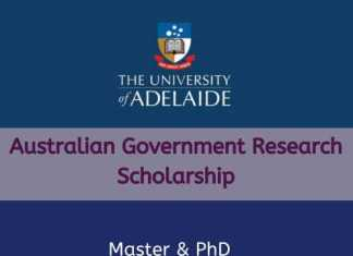 Australian Government Research Scholarship