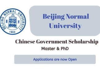 Beijing Normal University CSC Scholarship