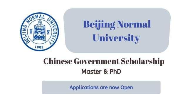 Beijing Normal University CSC Scholarship 2021 | Study in China