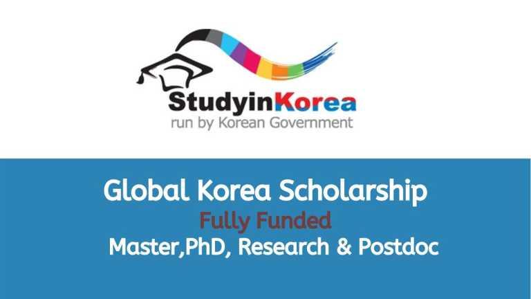 Global Korea Scholarship 2021 – Korean Government Scholarship