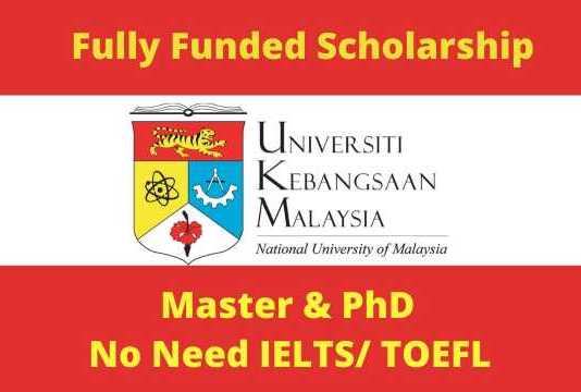 National University of Malaysia Scholarship