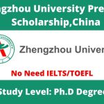 Zhengzhou University President Scholarship for September Intake 2021, China