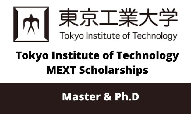 Tokyo Institute of Technology MEXT Scholarships 2021 (Fully Funded)
