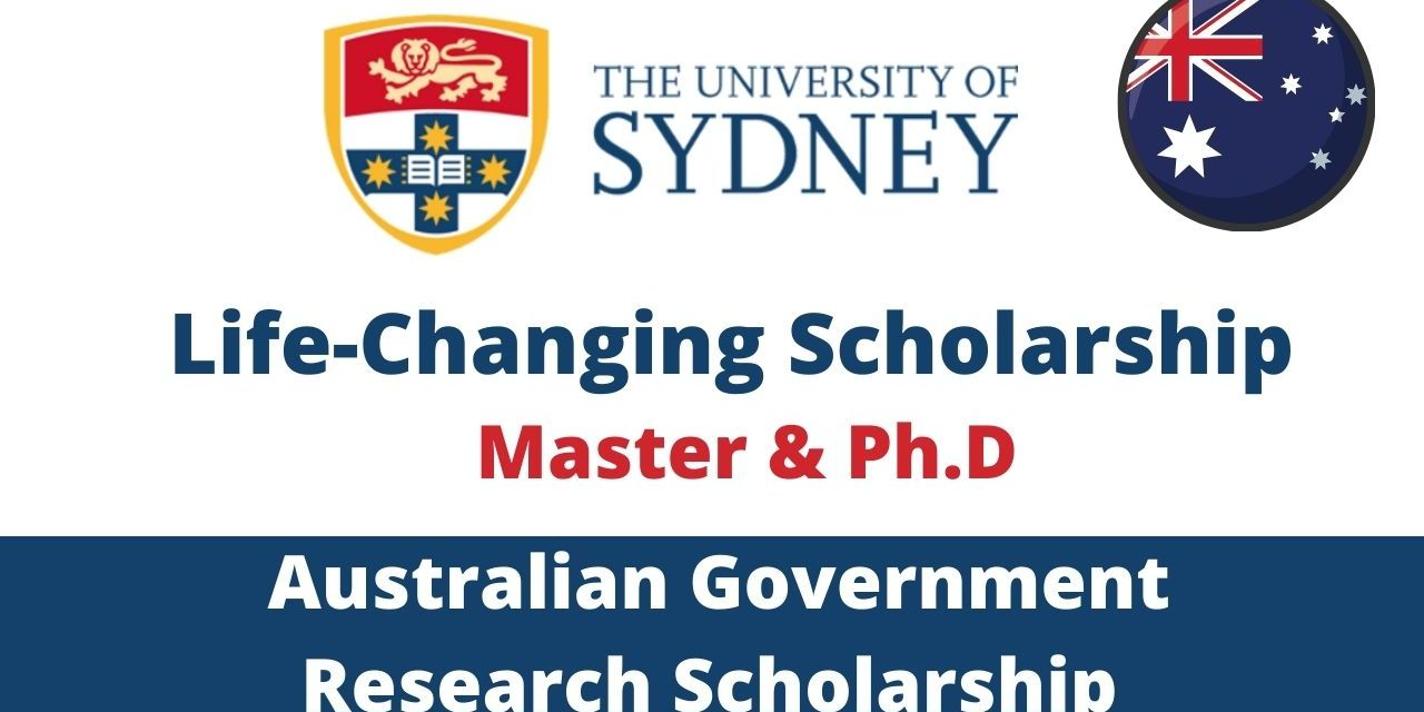 Australian Government Research Training Program 2022 Scholarships For Masters & PhD