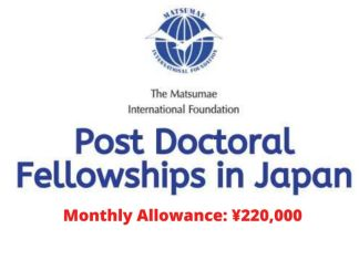 Post Doctoral Fellowships in Japan