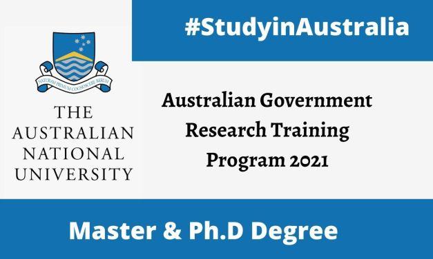 Australian National University Scholarships 2021-2022 | Fully Funded
