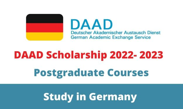 Fully Funded DAAD Scholarship 2022-2023 in Germany