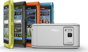Nokia N8 touchscreen Symbian^3 smartphone