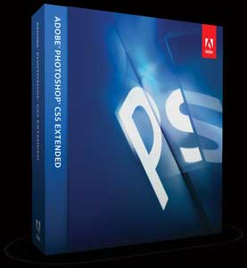 Adobe Photoshop CS5 Extended box shot