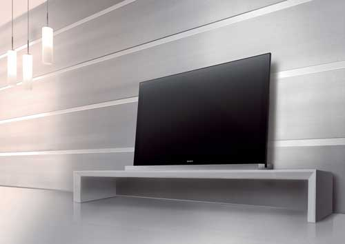 Sony Monolithic Design - the televisions