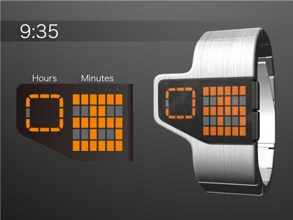 Tokyoflash Gridlock watch, Tokyo flash watch