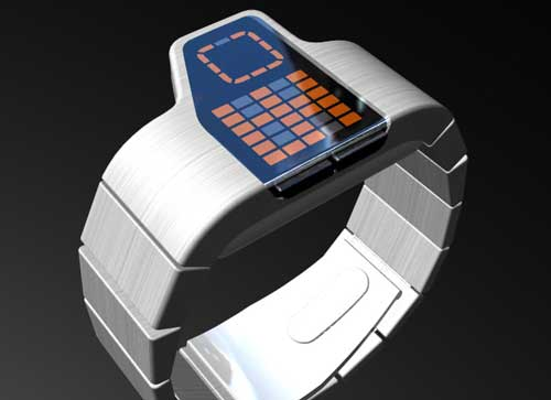 Tokyoflash Gridlock watch, Tokyoflash watch