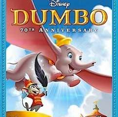 Dumbo, on Blu-ray and DVD