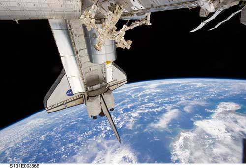 Pictures taken with Nikon D3S digital SLR camera on International Space Station