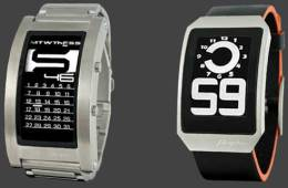 Phosphor Watches, with e ink technology