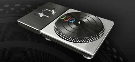 DJ Hero 2 turntable