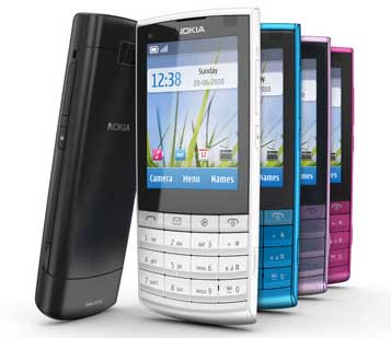 Nokia X3 mobile phone
