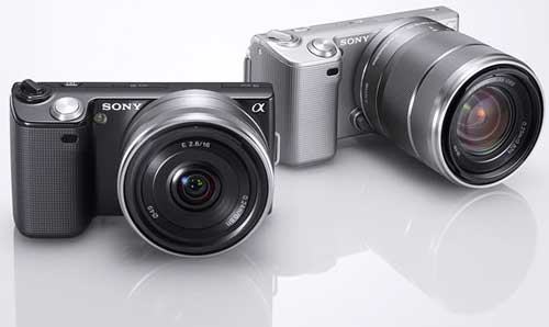 Sony NEX-5 digital camera