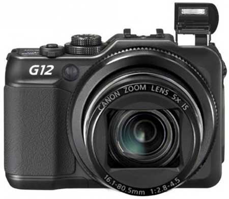 Canon G12 digital camera