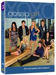 Gossip Girl season 3 DVD box
