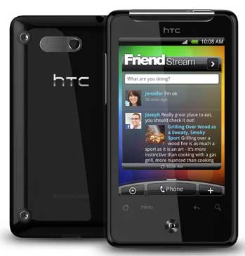 HTC Aria Android smartphone