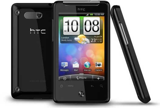 HTC Aria smartphone